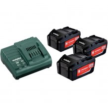 Набор аккумуляторов Metabo 18 В, 3x4 Ач, Li-Ion (685049000)