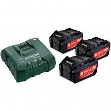 Набор аккумуляторов Metabo 18 В, 3x5.2 Ач, Li-Ion (685061000)