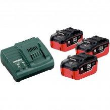 Набор аккумуляторов Metabo 18 В, 3x5.5 Ач, LiHD (685074000)