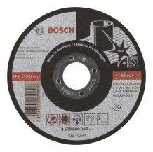 Круг отрезной INOX 115Х2 мм Bosch (2608600093)