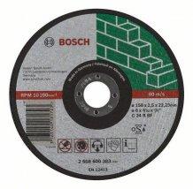 Круг отрезной камень 150Х2.5 мм прямой Bosch (2608600383)