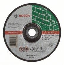 Круг отрезной камень 180Х3 мм вогнутый Bosch (2608600317)