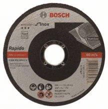 Круг отрезной Standard по нержавейке 115х1мм SfI, прямой Bosch (2608603169)