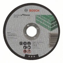 Круг отрезной Standard по камню 180х3мм SfS, вогнутый Bosch (2608603175)