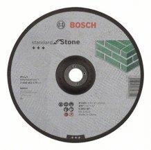 Круг отрезной Standard по камню 230х3мм SfS, вогнутый Bosch (2608603176)