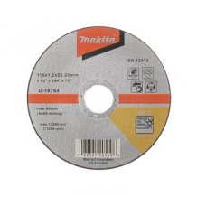 Отрезной диск Makita 115x22,23x1,2 мм (D-18764)