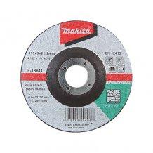 Отрезной диск для кирпича вогнутый Makita 115 мм (D-18611)