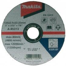 Отрезной диск по металлу вогнутый Makita 115 мм (D-18568)