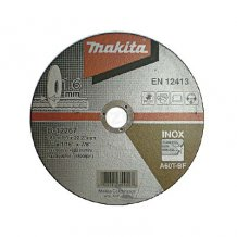 Отрезной диск для нержавеющей стали 180x1,6x22,23мм Makita (B-12267)