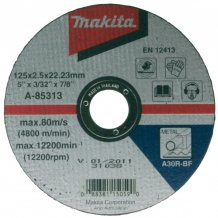 Отрезной диск по металлу Makita 230 мм (P-05773)