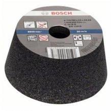 Конусный Чашечный Шлифкруг 110мм K36 Кам Bosch (1608600240)