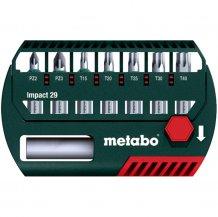 Набор ударных бит Metabo 29 мм, 8 ед. (628849000)