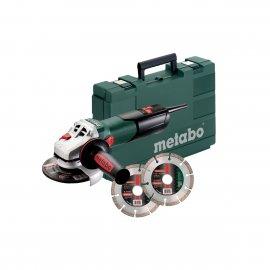 Угловая шлифмашина Metabo W 9-125 Quick SET (600374510)