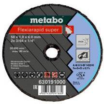 Малый отрезной круг Metabo Fleхia Rapid Super 50х1,0х6,0 мм для стали (630191000)