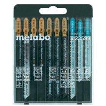 Набор пилочек Metabo для лобзика SP, 10 предметов (623599000)