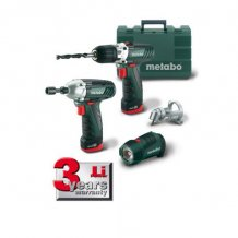 Набор инструментов Metabo PowerCombo 12 (685018000)