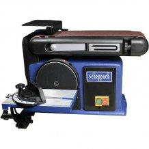 Тарельчато-ленточный шлифовальный станок Scheppach BTS 800