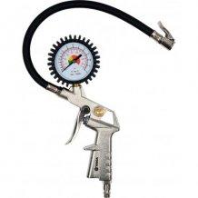Пневмопистолет Vorel для подкачки шин с манометром (81650)