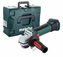 Аккумуляторная болгарка Metabo W 18 LTX 125 Quick каркас + MetaLoc (602174840)