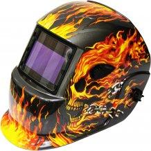 Сварочная маска ТИТАН S777 (пламя)