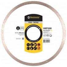 Алмазный диск Baumesser Hart Keramik PRO 1A1R 200х1,5х8,5х25,4 (91320448015)