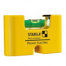 Уровень для установки розеток Stabila Pocket Electric