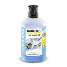Автомобильный шампунь Karcher Plug-n-Clean 3-в-1, 1 л (6.295-750.0)