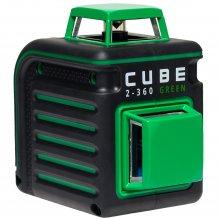 Лазерный нивелир ADA Cube 2-360 Professional Edition Green Laser