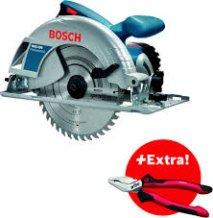 Дисковая пила Bosch GKS 190  + Плоскогубцы Wiha