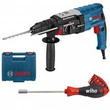 Перфоратор Bosch GBH 2-28 F + Отвертка Wiha + биты