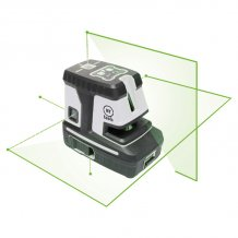 Лазерный нивелир MyTools 145-2-5G c зеленым лучем