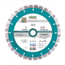 Алмазный диск DISTAR 1A1RSS/C3 232х2,6/1,8х12х22,23-16 HIT Technic Advanced