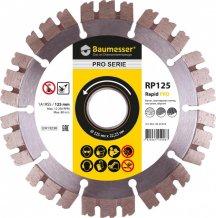 Алмазный диск Baumesser отрезной 1A1RSS/C3-H 125х2,0/1,2х10х22,23-10 Baumesser Rapid PRO