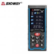 Лазерная рулетка с цифровым уровнем SNDWAY SW-S100