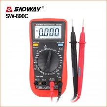 Мультиметр с термопарой SNDWAY SW-890C