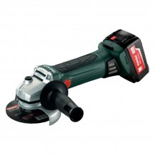 Аккумуляторная болгарка Metabo WB 18 LTX 125 QUICK 4 Ач