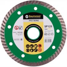 Алмазный диск Turbo 125х2,2х8х22,23 Baumesser Stein PRO (90215082010)