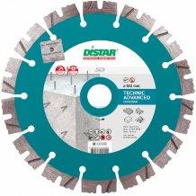 Алмазный диск отрезной по бетону Distar 1A1RSS/C3 180x2,6/1,8x12x22,23-14-HIT Technic Advanced (14315347014)