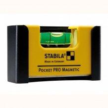 Уровень магнитный Stabila Pocket Pro Magnetic 7x2x4 см (17768)