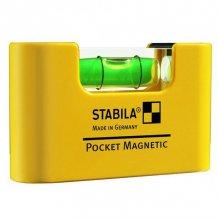 Уровень магнитный Stabila Pocket Magnetic 7x2x4 см (17774)