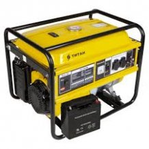 Бензиновый генератор Титан ПБГ 5500 E