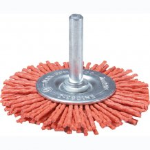 Торцевая нейлоновая щетка для дрелей 100 мм Makita (D-45602)