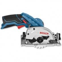 Аккумуляторная дисковая пила Bosch GKS 12V-26 каркас (06016A1001)