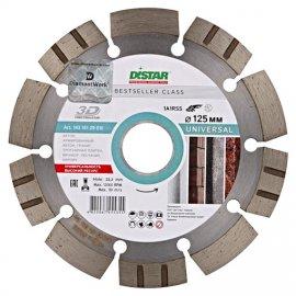 Алмазный диск DISTAR 1A1RSS/C3 125х2,2/1,4х22,23-10 HIT