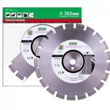 Алмазный диск DISTAR 1A1RSS/C1N-W 350х3,2/2,2х25,4-11,5-21 ARP 40х3,2х6+3 R165 Bestseller Abrasive