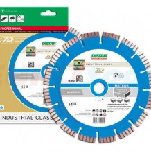 Алмазный диск DISTAR 1A1RSS/С3-W 125х2,2/1,3х22,23-10 ARPS 32х2,2х8+2 R52,5 Meteor