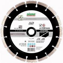 Алмазный диск DISTAR 1A1RSS/C3 230*2,6/1,8*10*22,23-16 HIT STAYER