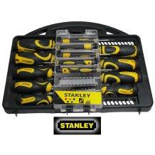 Набор отверток  Stanley 34 ед. в футляре (STHT0-62141)