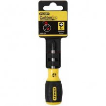 Oтвертка Stanley Cushion Grip (+) PH2 30 мм. (0-64-934)