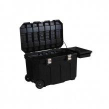 Ящик Stanley MOBILE JOB CHEST пластмассовый на колесах, интегрированным замком (1-93-278)